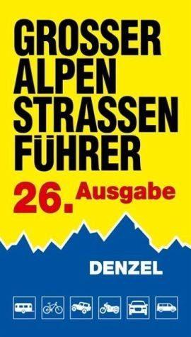 Gebundenes Buch »Großer Alpenstraßen-Führer«