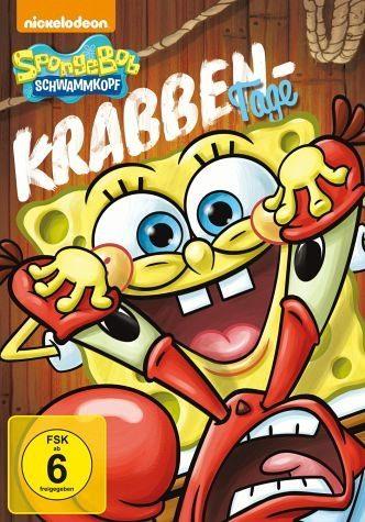 DVD »SpongeBob Schwammkopf - Krabben-Tage«