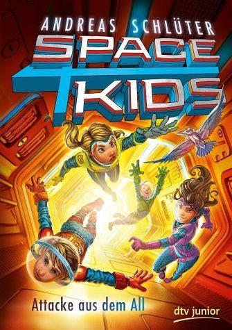 Gebundenes Buch »Spacekids - Attacke aus dem All«
