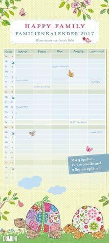 Kalender »Happy Family Familienkalender 2017«