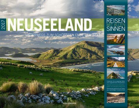 Kalender »Neuseeland 2017 - Reisen mit allen Sinnen«