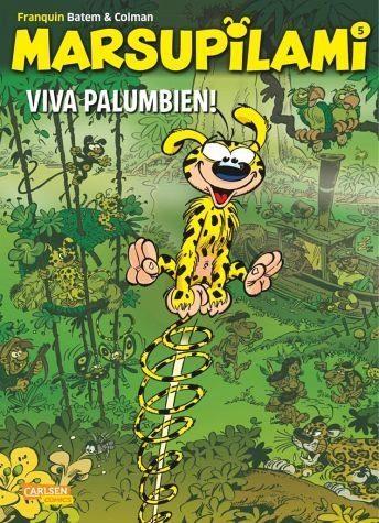 Broschiertes Buch »Viva Palumbien! / Marsupilami Bd.5«