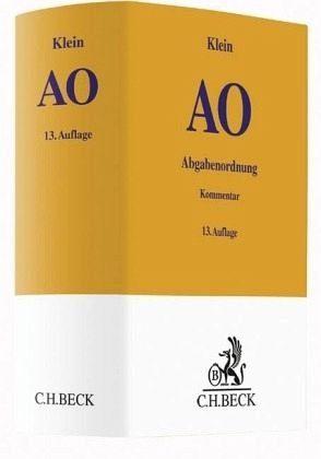 Buch mit Leinen-Einband »Abgabenordnung«