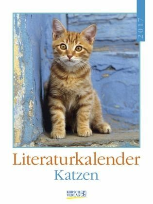 Kalender »Katzen 2017 Literatur-Wochenkalender«