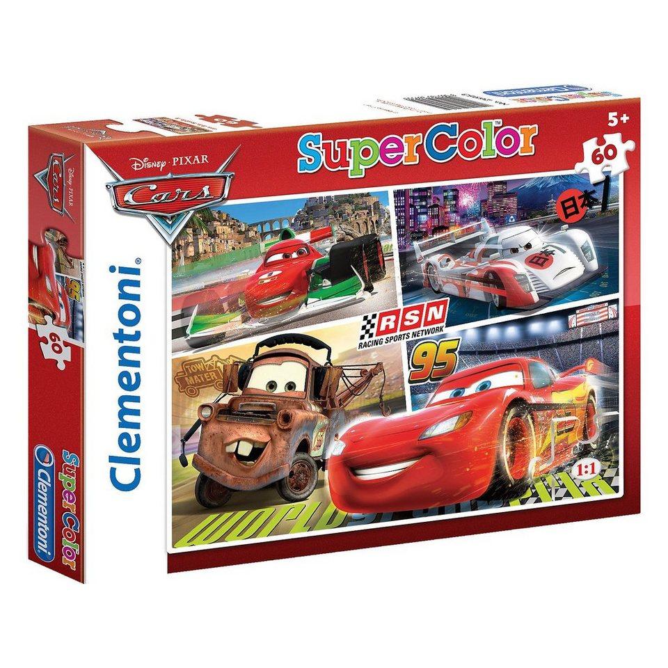 Clementoni Puzzle 60 Teile - Cars