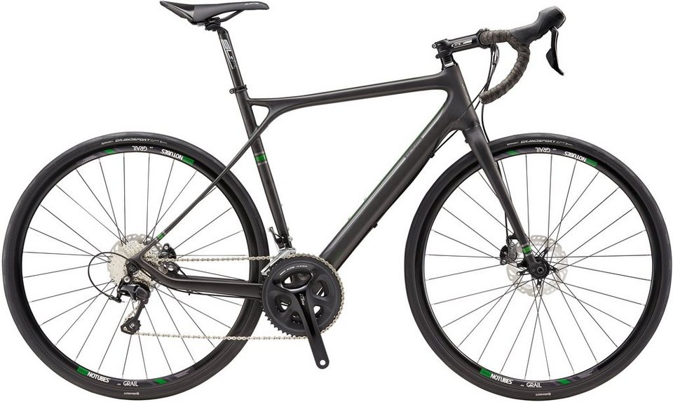 GT Rennrad, 27,5 Zoll, 20 Gang Shimano Schaltung, »Grade Carbon« in schwarz
