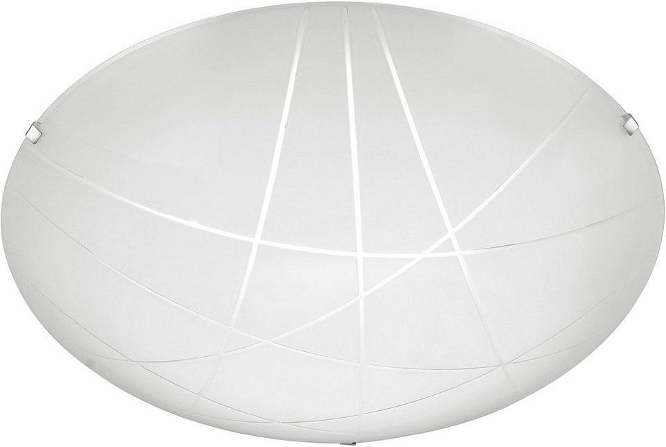 Leuchten Direkt LED-Deckenleuchte, 1 flg., »ANNA« in Metall/Glas