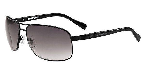 Boss Orange Herren Sonnenbrille » BO 0107/S« in MPZ/EU - schwarz/grau