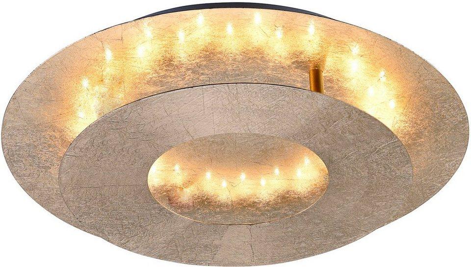 Paul Neuhaus LED-Deckenleuchte, 1 flg., »NEVIS« in goldfarben