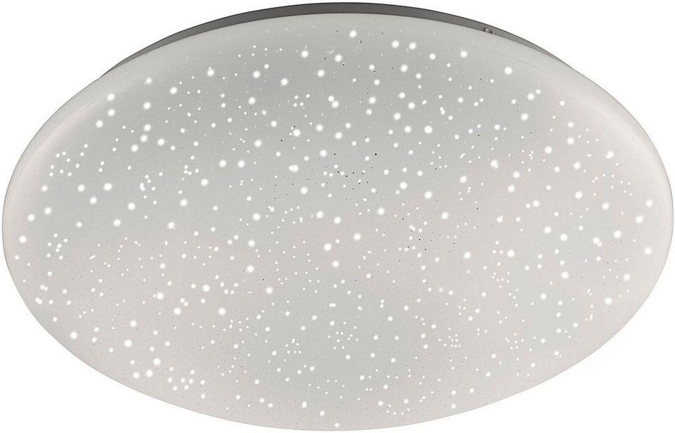 leuchten direkt led deckenleuchte skyler kunststoffschirm online kaufen otto. Black Bedroom Furniture Sets. Home Design Ideas