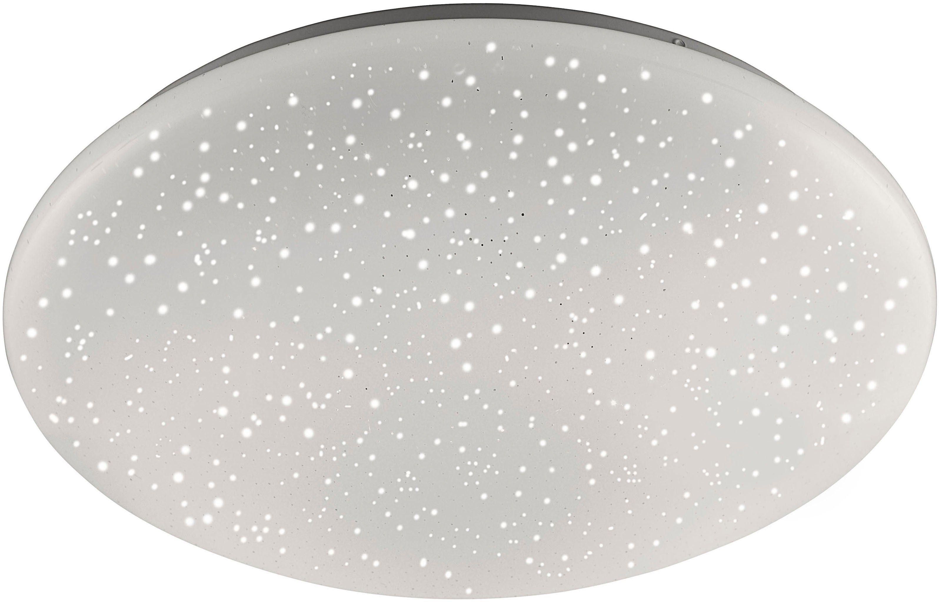 Leuchten Direkt LED Deckenleuchte »SKYLER«, Kunststoffschirm