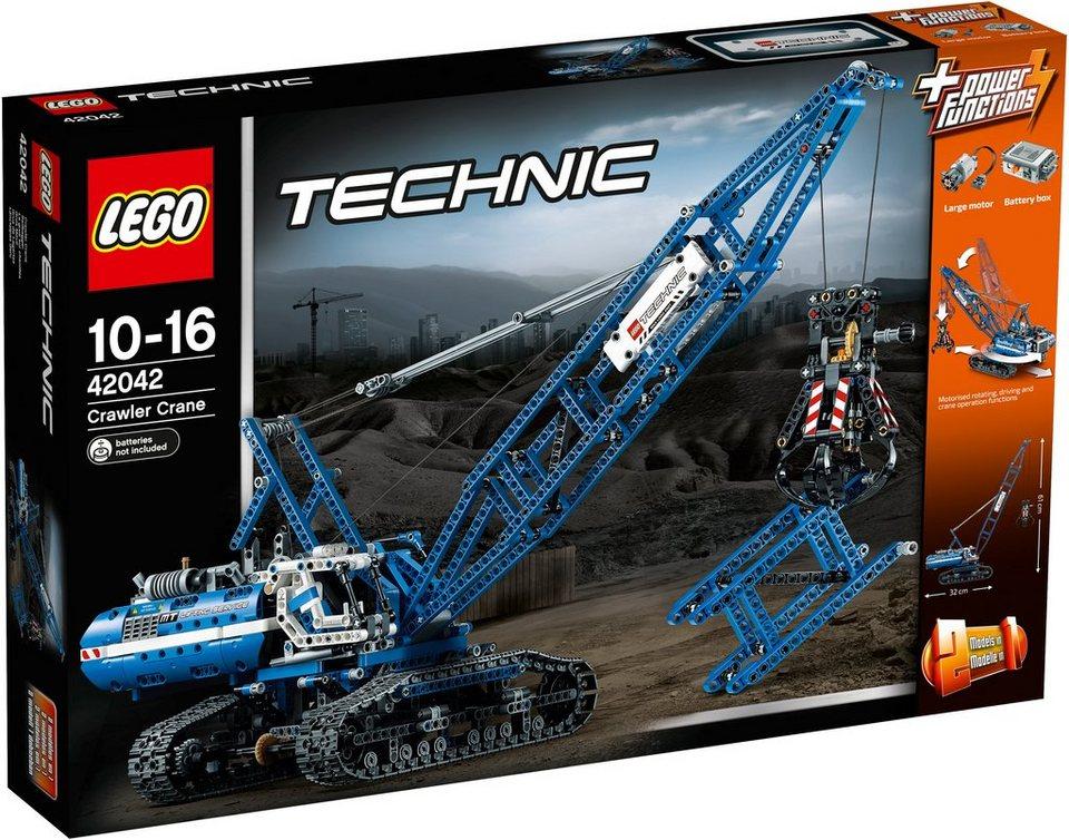 LEGO® Seilbagger (42042), »LEGO® Technic« in grau