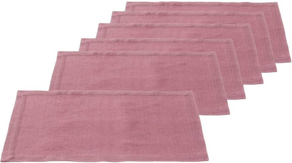 LEONARDO Platz-Set, rubino in lila