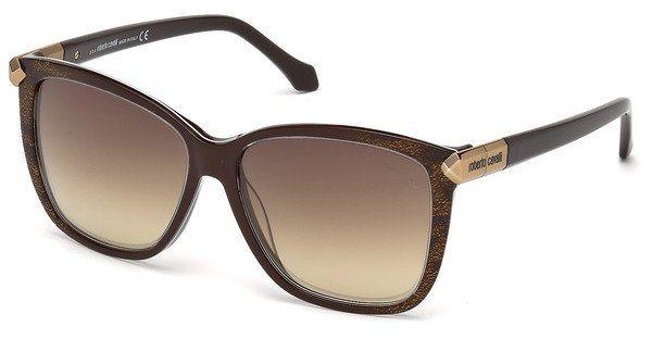 Roberto Cavalli Damen Sonnenbrille » RC902S« in 50G - braun/braun