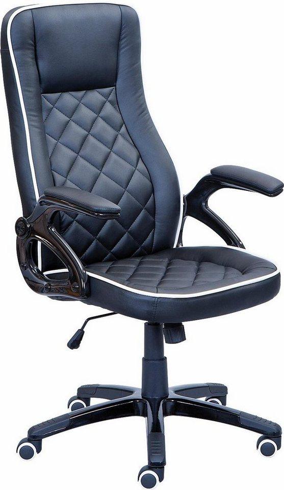 Bürostuhl »Tidone« in schwarz