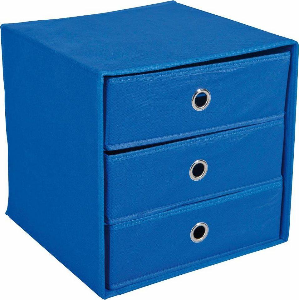 Textil-Boxen »Willy« in blau