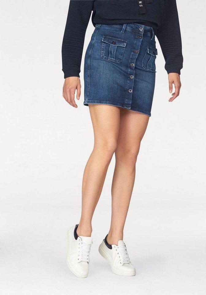 Pepe Jeans Jeansrock »Scarlett« in blue-denim