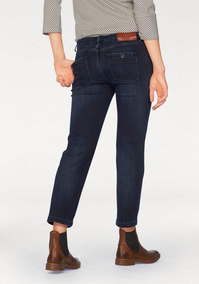 Marc O'Polo 7/8-Jeans »Stene« in Krempellänge in dark-denim