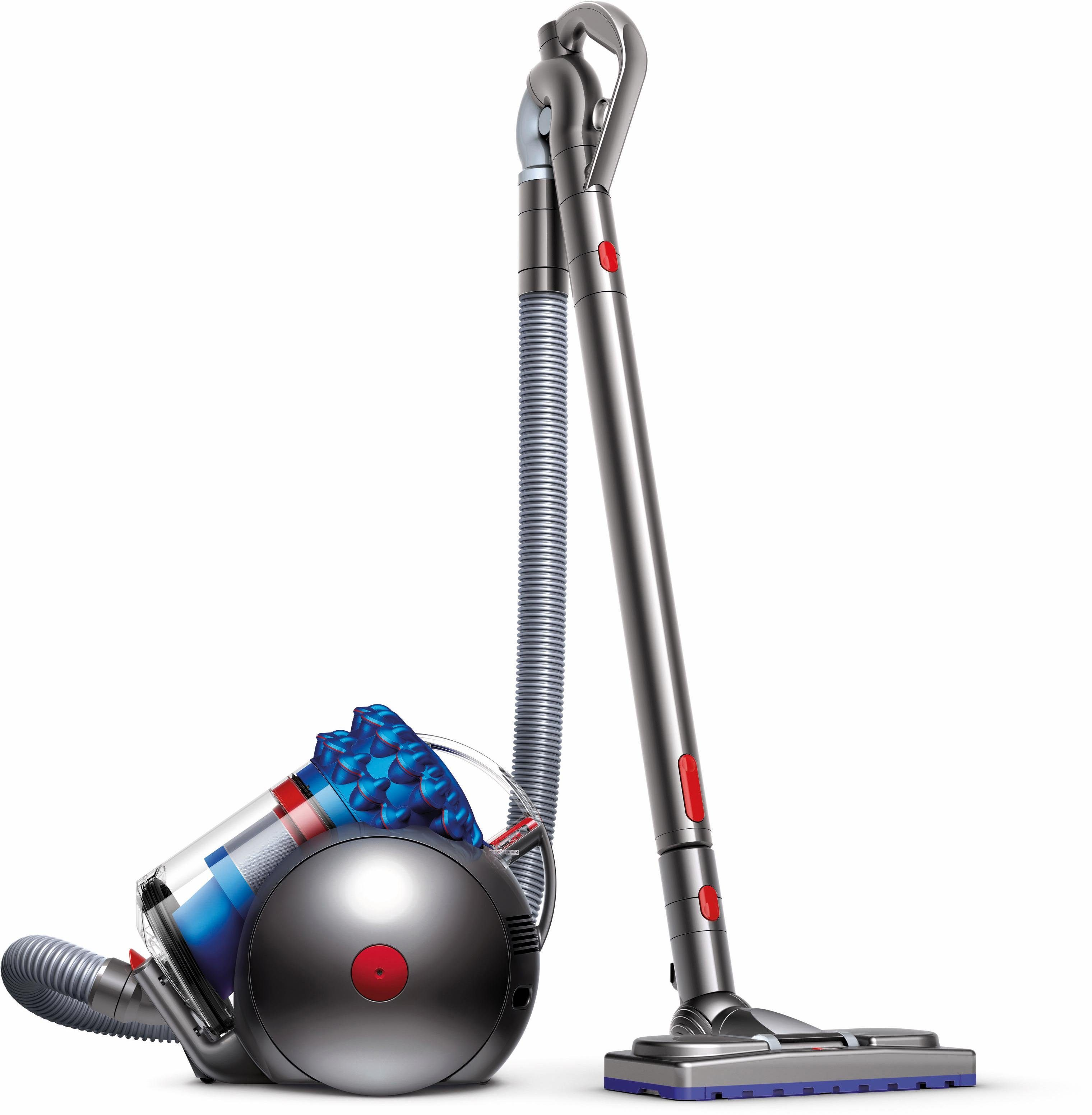 Dyson Staubsauger Cinetic Big Ball Musclehead, beutellos, 250 Watt, blau