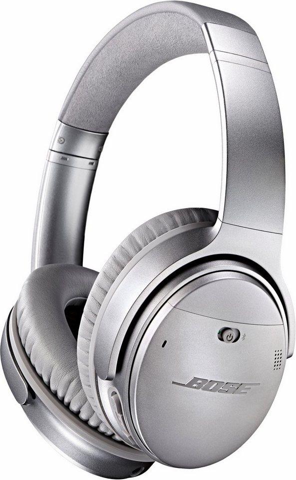 Bose® QuietComfort® QC 35 wireless headphone in silver