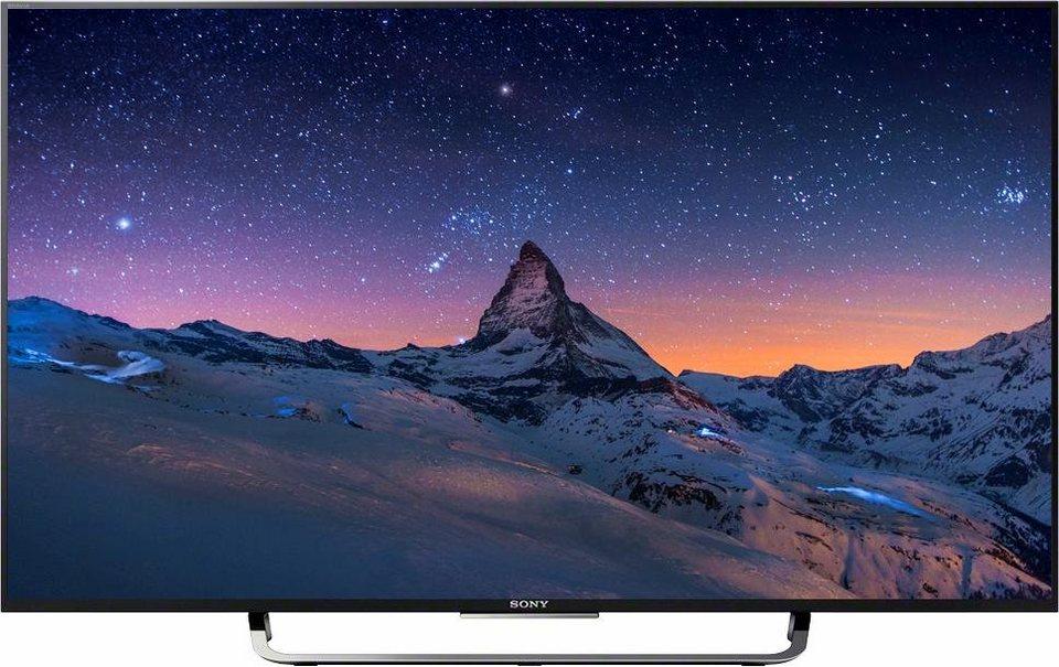 Sony BRAVIA KD-43X8305C, LED Fernseher, 108 cm (43 Zoll), 2160p (4K Ultra HD), Smart-TV in schwarz/silberfarben