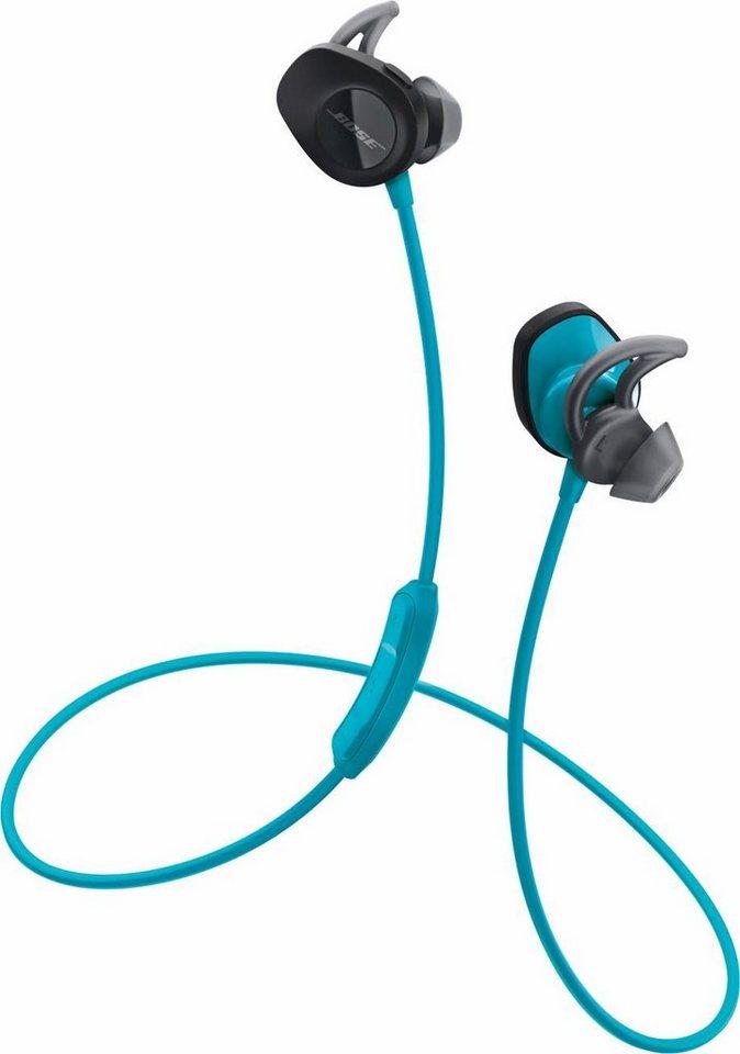 Bose® SoundSport® wireless headphones in aquablue