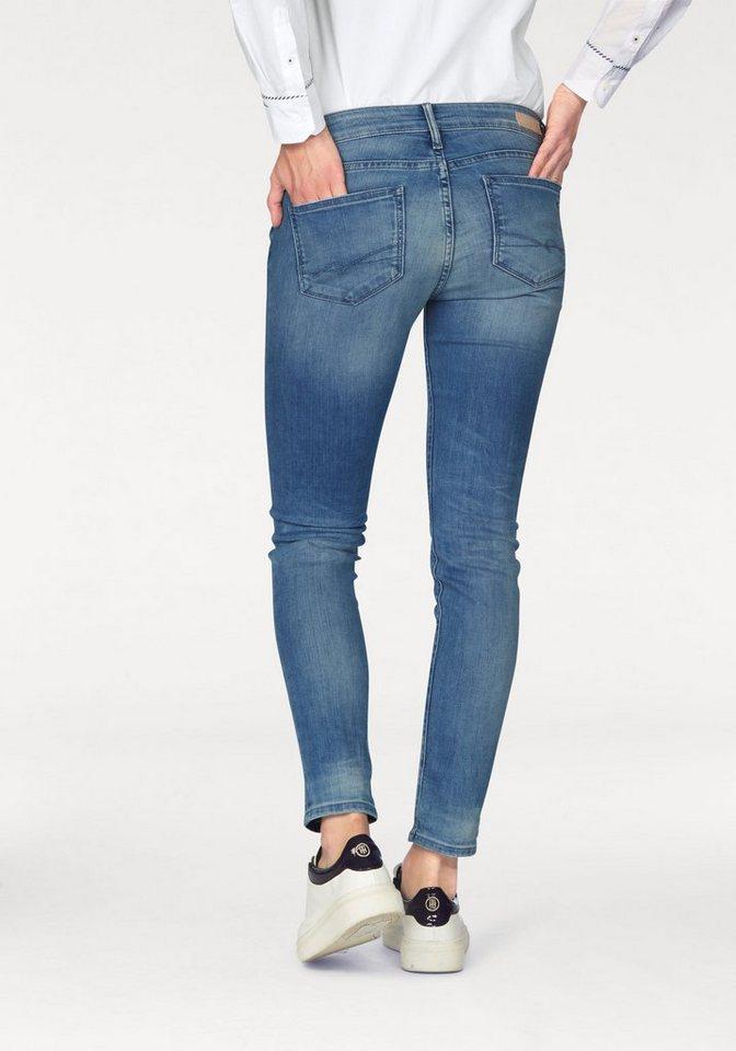 Tommy Hilfiger 5-Pocket-Jeans »Venice« in verkürzter Länge in blue-denim