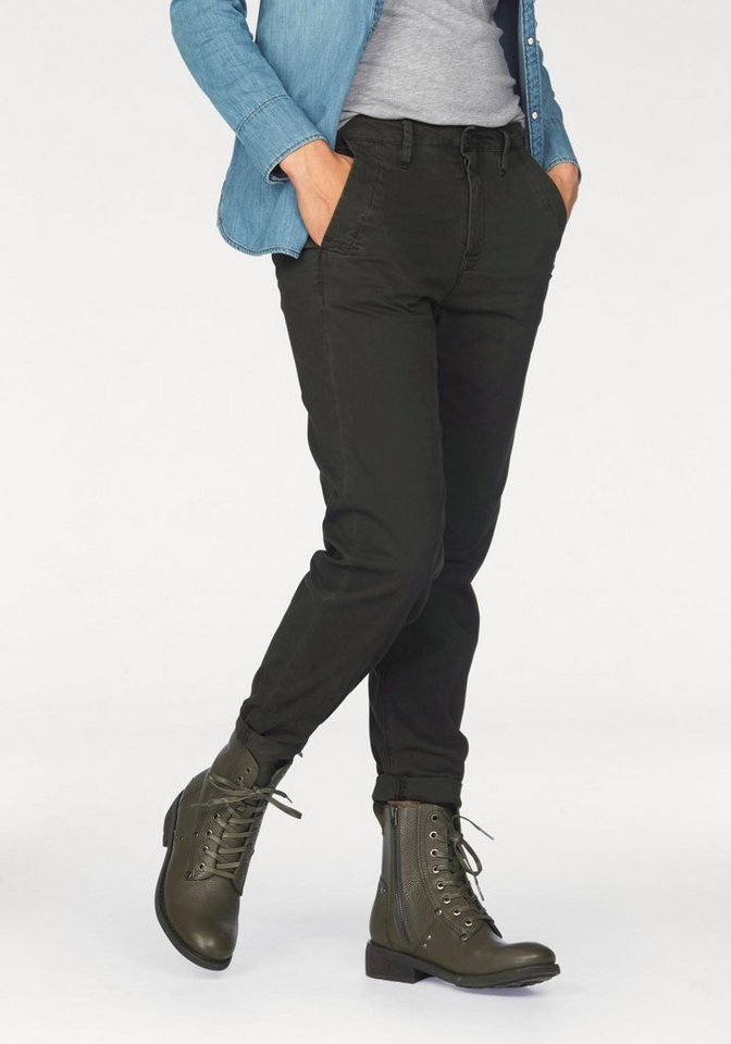 G-Star Chinos »Bronson Mid Skinny« bequeme Form in anthra