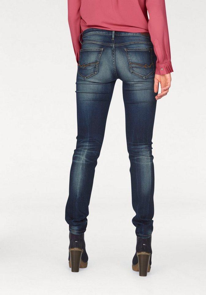 Tommy Hilfiger Slim-fit-Jeans »Milan« zum Krempeln geeignet in blue-denim