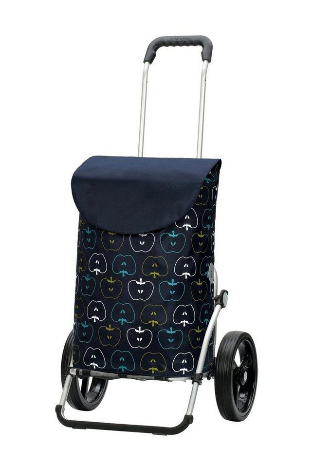 Andersen Einkaufstrolley »Royal Shopper® Hava« aus wasserabweisendem Nylon in blau