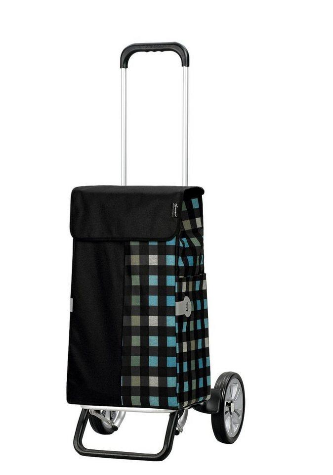 Andersen Einkaufstrolley »Alu Star« mit Alu Fahrgestell in schwarz