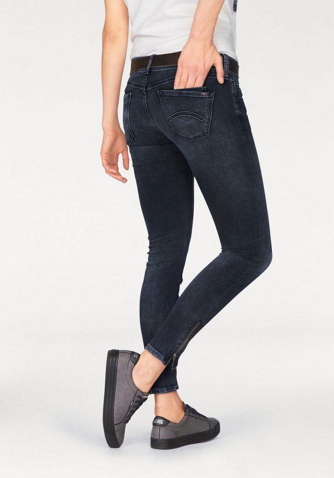 Hilfiger Denim 7/8-Jeans »7/8 Scarlett Zip« mit Reißverschluss am Bein in smoke-blue