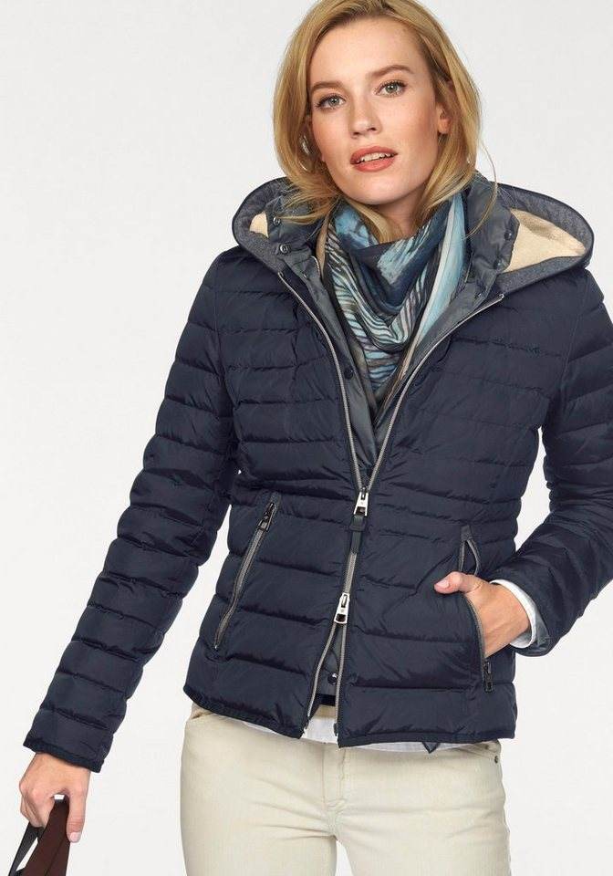 Marc O'Polo Daunenjacke im 2-in-1 Look in marine