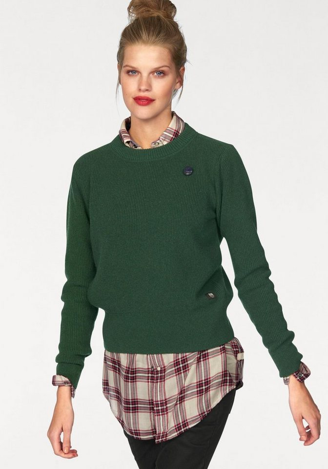 G-Star Wollpullover »Yarcia« in grün