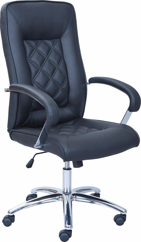 Bürostuhl ALESSIA in der Farbe schwarz - nur 209,99€