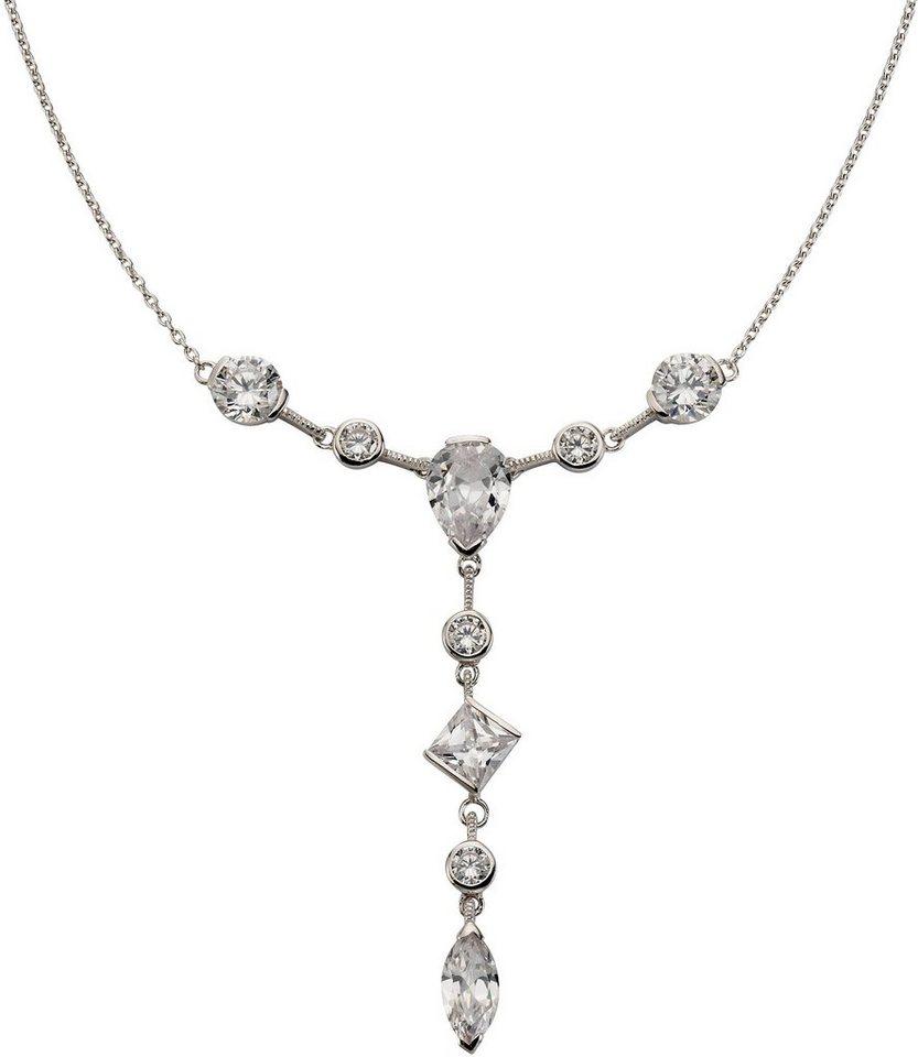 firetti Collier mit Zirkonia in Silber 925