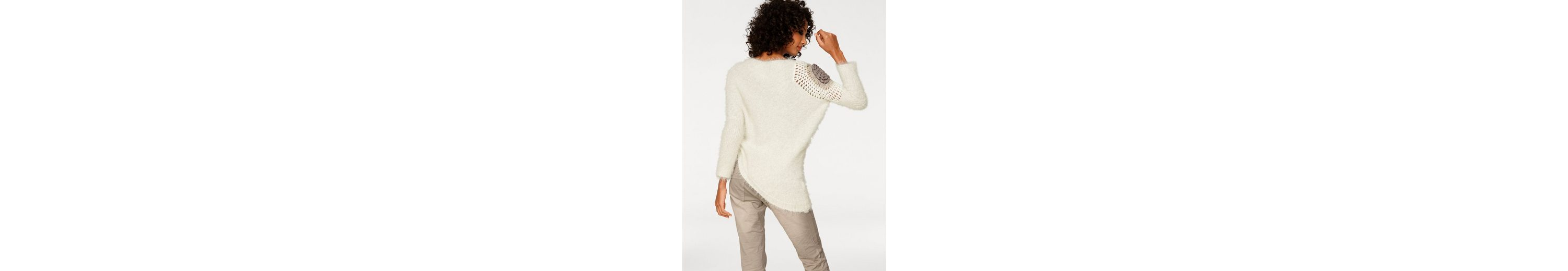 Mit Paypal Verkauf Online LINEA TESINI by Heine Crochetpullover asymmetrische Form Wählen Sie Eine Beste Online Günstig Kaufen Größte Lieferant dp1Y8TYBO