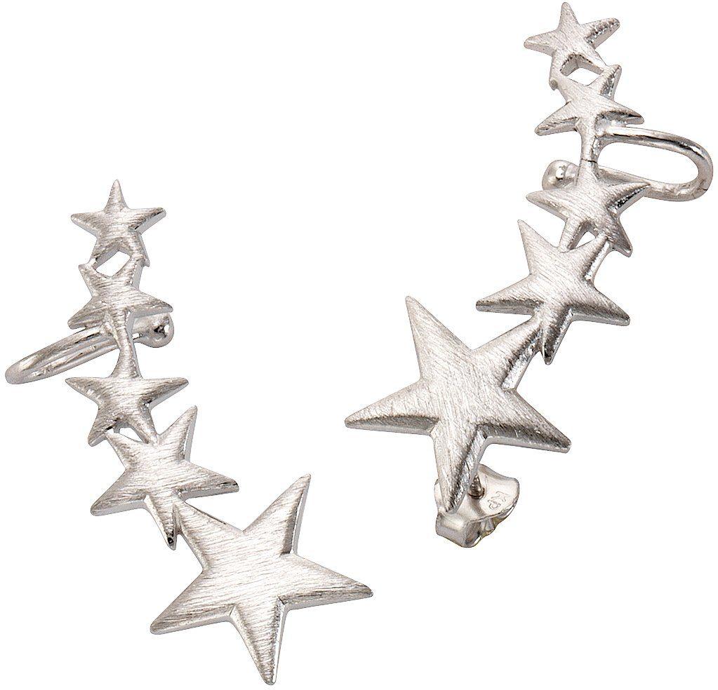 firetti Paar Ohrstecker mit Ohrklemme, »Ear Cuffs, Sterne«