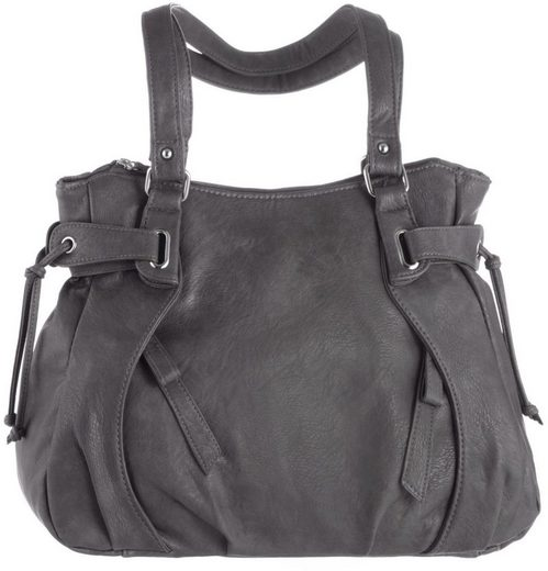 J.jayz Shoulder Bag, With Two Practical Zip Fan At The Front