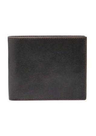 Fossil Geldbörse »ANDERSON« aus Leder in schwarz