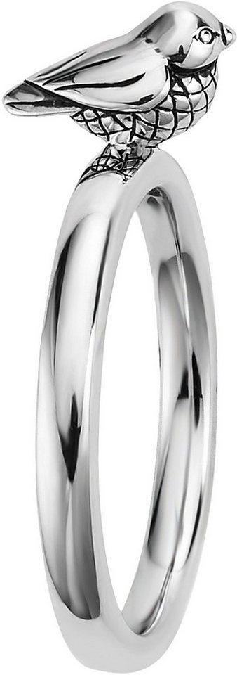 caï Women Ring »Vogel, C1682R/90/00« in Silber 925