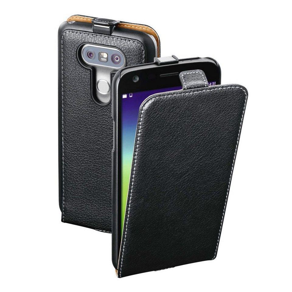 Hama Flap-Tasche Smart Case für LG G5 (SE), Schwarz in Schwarz