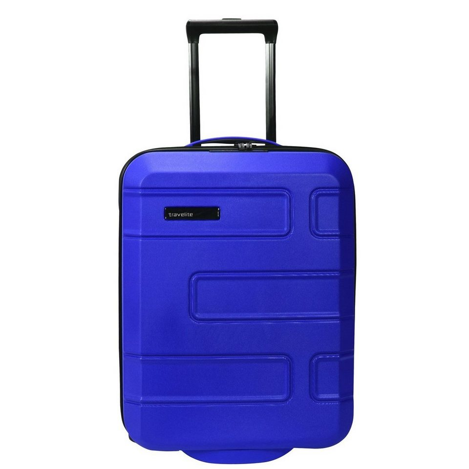 Travelite Move 2-Rollen Kabinentrolley 55 cm in lila blau