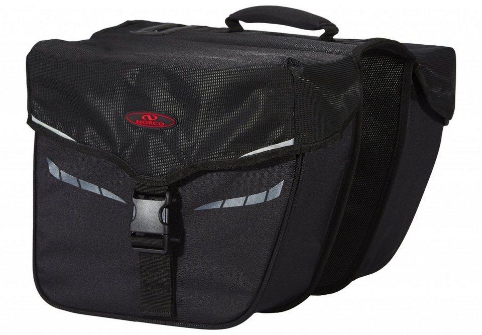 Norco Gepäckträgertasche »Idaho Doppeltasche schwarz«