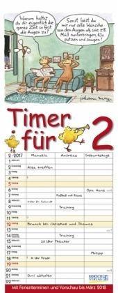 Kalender »Timer für 2 2017«