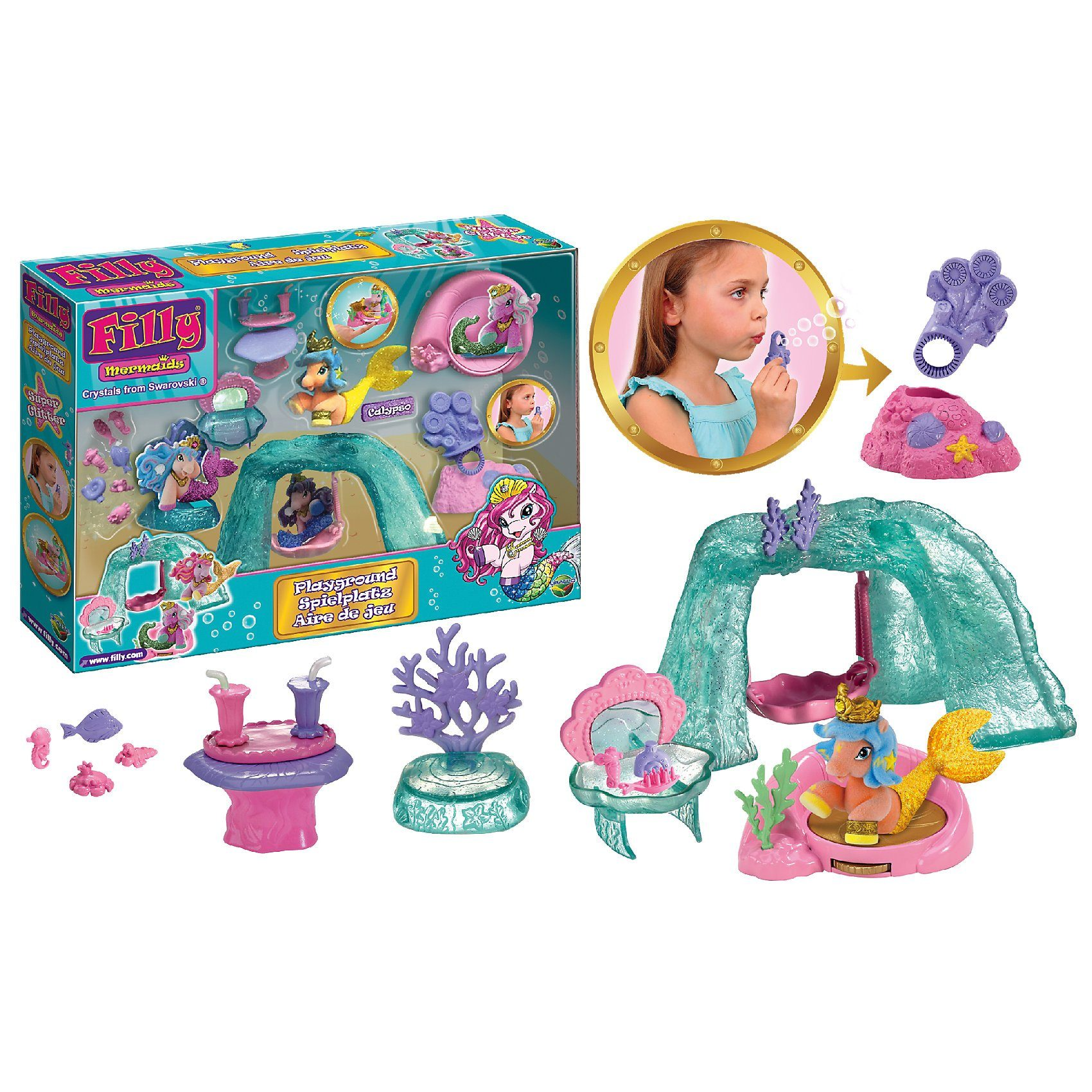 Dracco Filly Mermaid Spielplatz Set