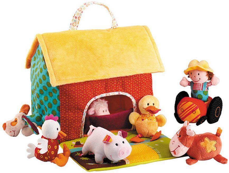 Lilliputiens Spielset, (9-tlg.), »Bauernhof mit Tieren«
