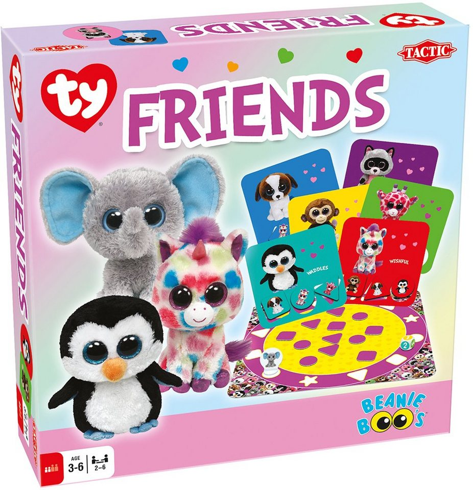 Tactic Brettspiel, »Ty Beanie Boo´s™ Friends«