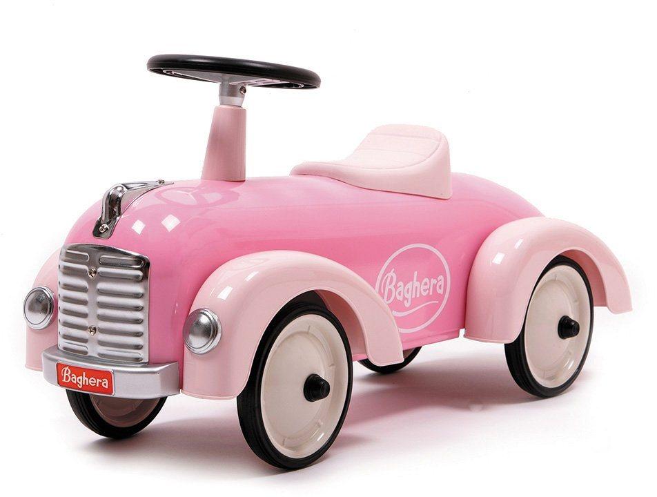 Baghera Rutscherfahrzeug aus Metall, »Rutscher Speedster Rosa« in rosa