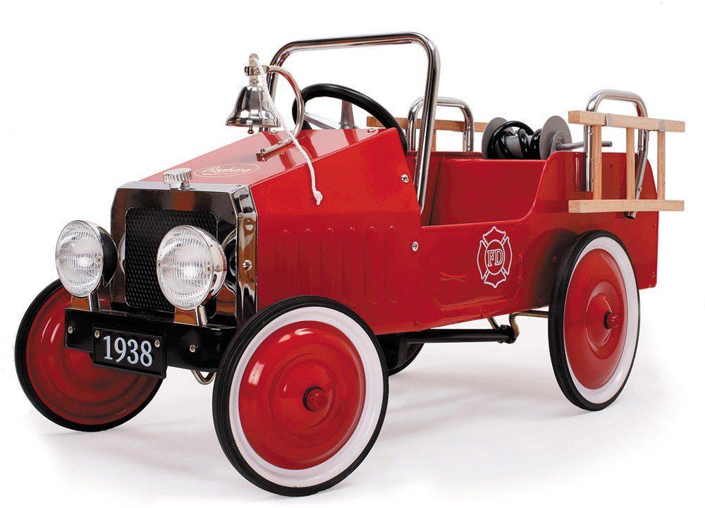Baghera Tretfahrzeug mit verstellbaren Pedalen, »Tretauto Feuerwehr«